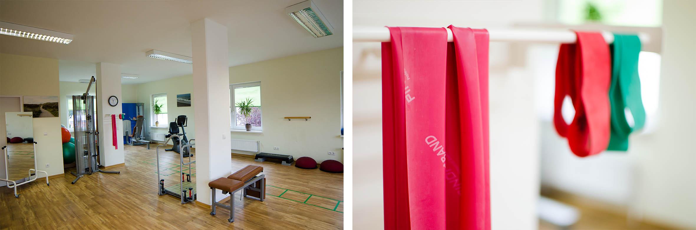 Innenräume Therapiezentrum Panta rhei aktiv